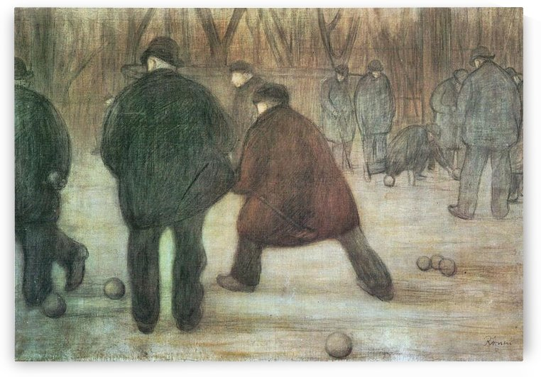 Ball player by Joseph Rippl-Ronai by Joseph Rippl-Ronai