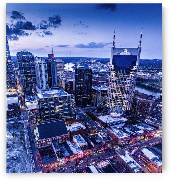 Nashville City View by Jason Hoffman