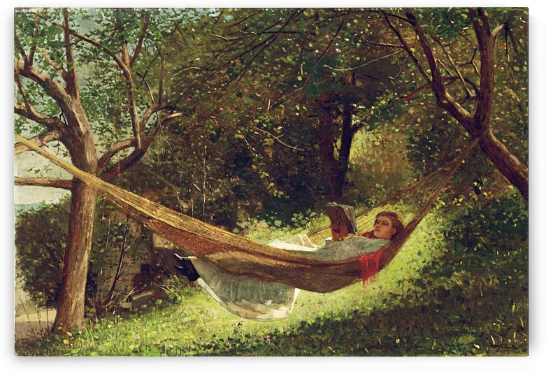 Girl In The Hammock_OSG by One Simple Gallery