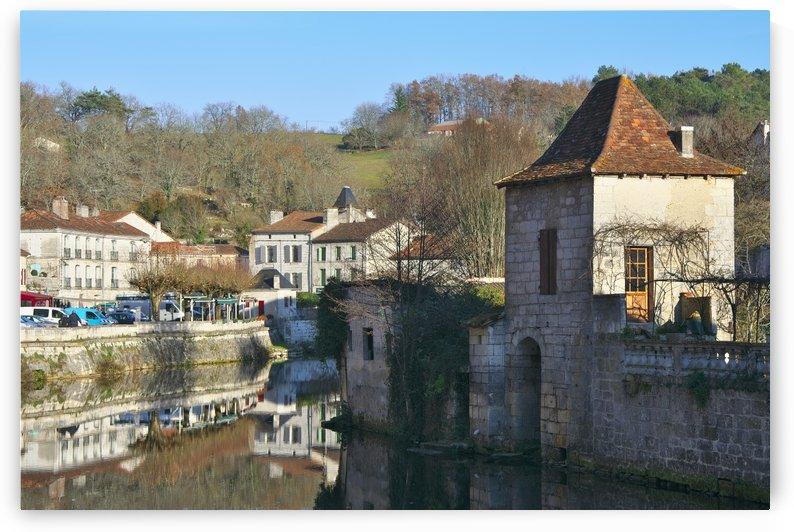 Brantome Dordogne France by Douglas Kay