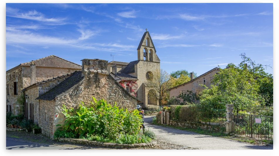 Biron Dordogne France by Douglas Kay