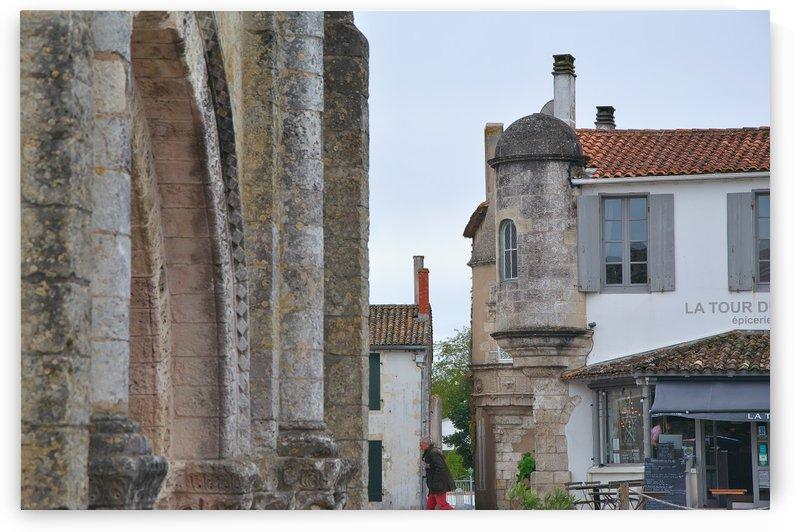 Ars en Re Ile de Re La Rochelle France by Douglas Kay