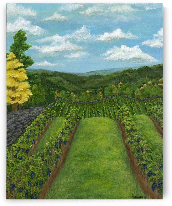Between the Vines by Kelsey VandenHoek