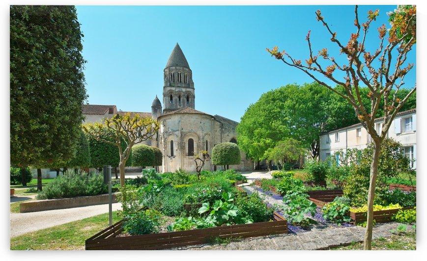 Abbey aux Dames Saintes Charente-Maritime by Douglas Kay