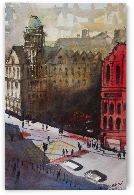 Liverpool Square England by Lior Ohayon