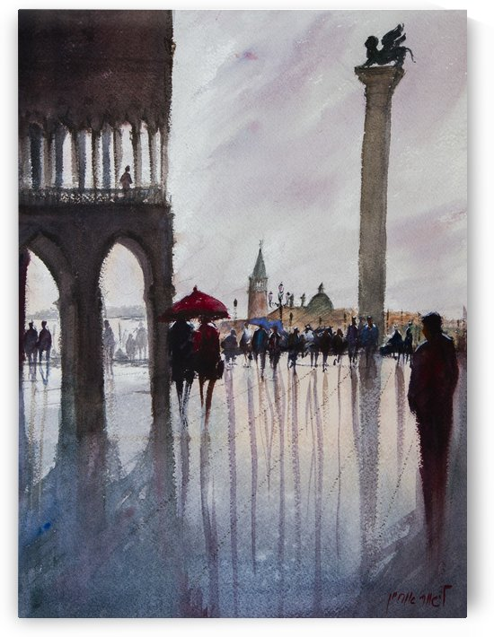 VENICE 3 Piazza San Marco Italy by Lior Ohayon