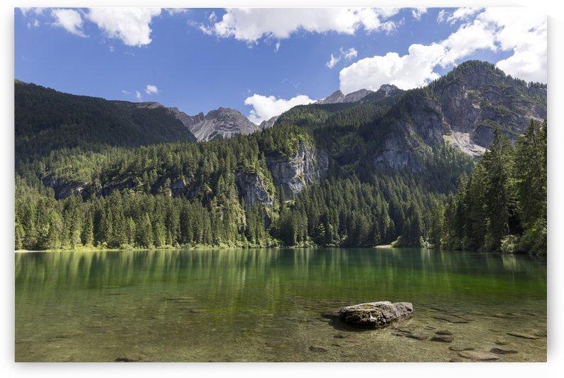 Lake of Tovel by Pietro Ebner