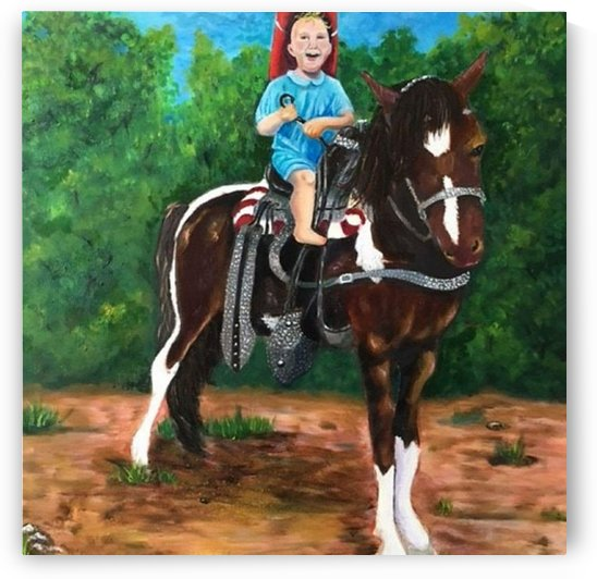 Little Buckaroo by Elizabeth J White