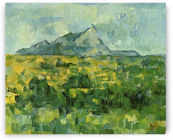 Mont Sainte-Victoire 1906 by Paul Cezanne