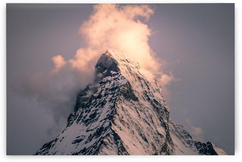 Matterhorn Glow by Danielle Farrell