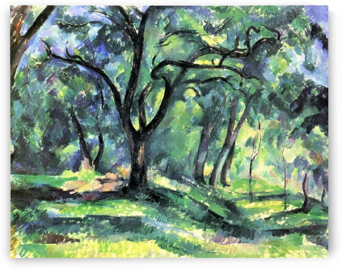 Waldstuck by Paul Cezanne