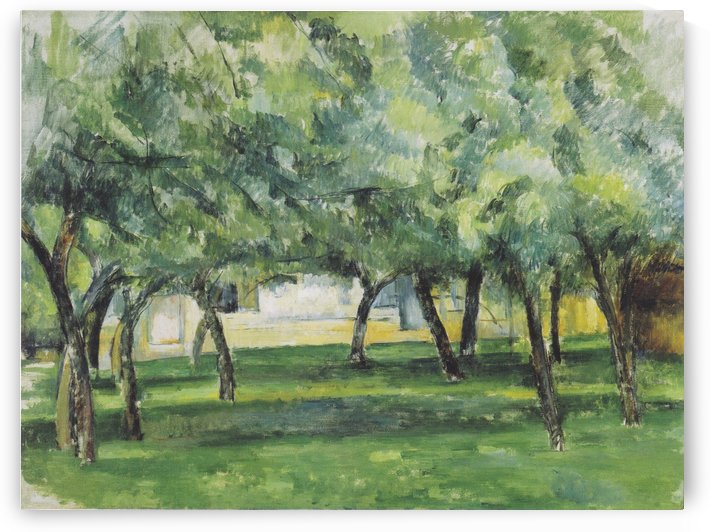 Gehoft in der Normandie by Paul Cezanne