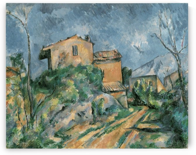 Maison Maria am Weg by Paul Cezanne