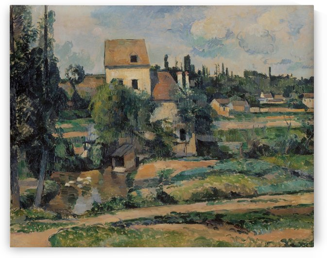 Le moulin sur la Couleuvre by Paul Cezanne