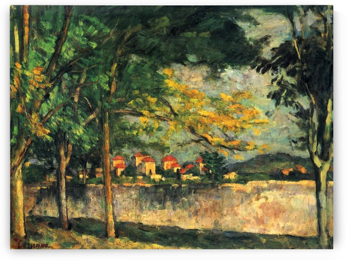 Die Strase by Paul Cezanne