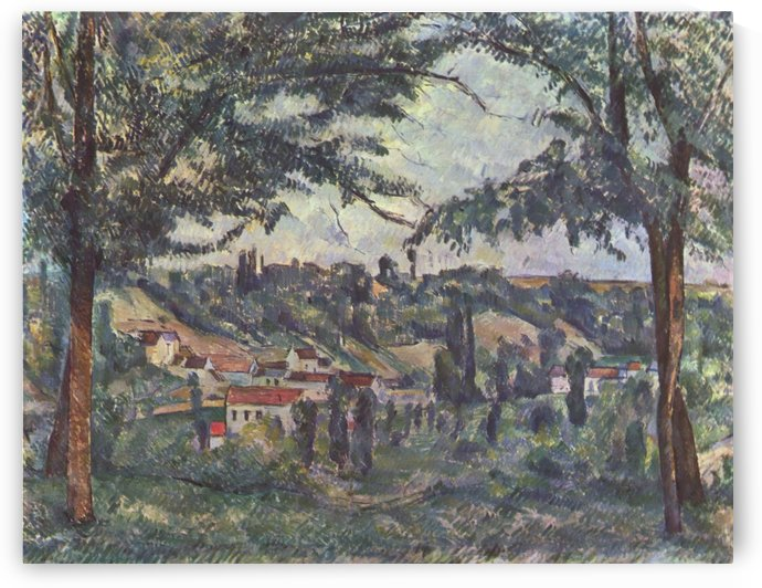 Landschaft by Paul Cezanne