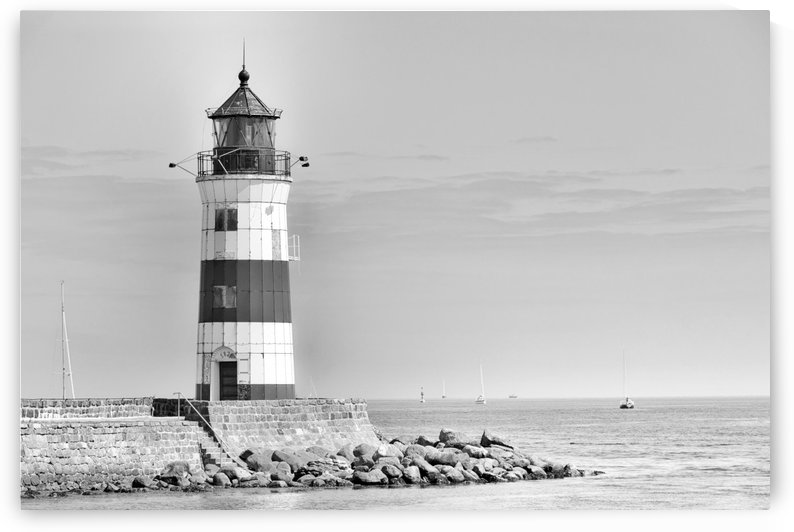 Lighthouse Maasholm by Kirsten Warner