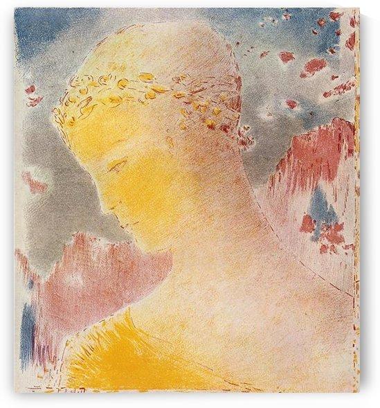 Beatrice by Odilon Redon by Odilon Redon