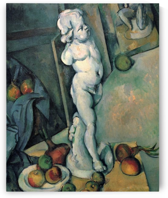 Stilleben mit Putto by Paul Cezanne