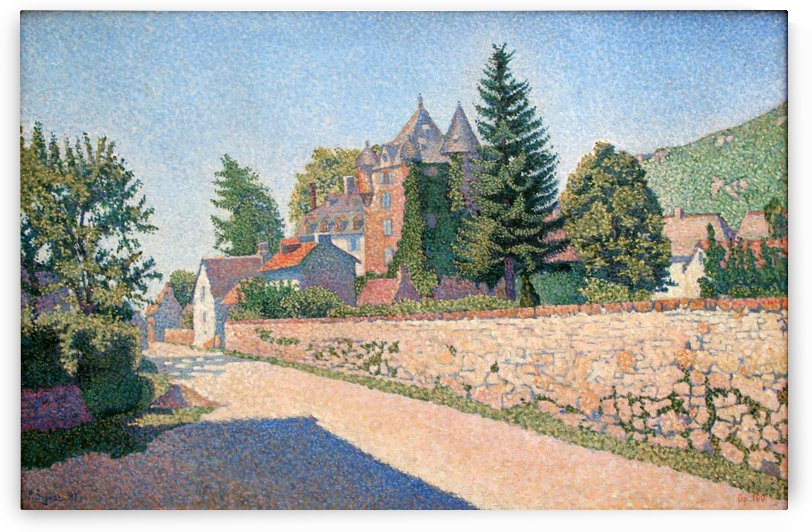 Comblat Castle by Paul Signac