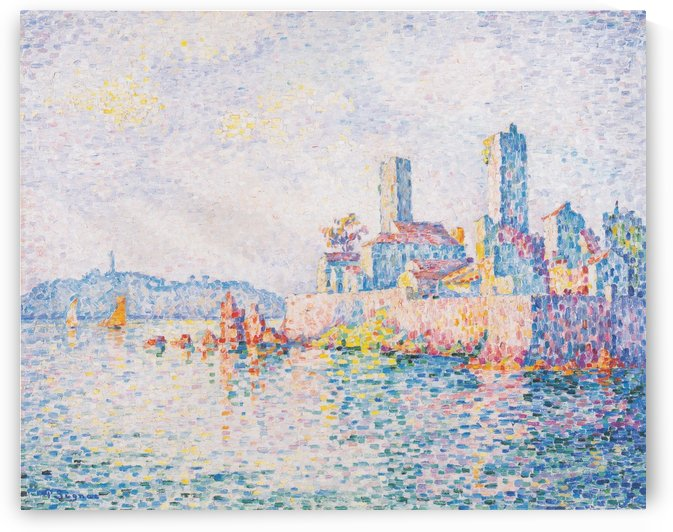 Antibes by Paul Signac