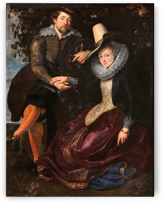 The Artist and His First Wife by Peter Paul Rubens
