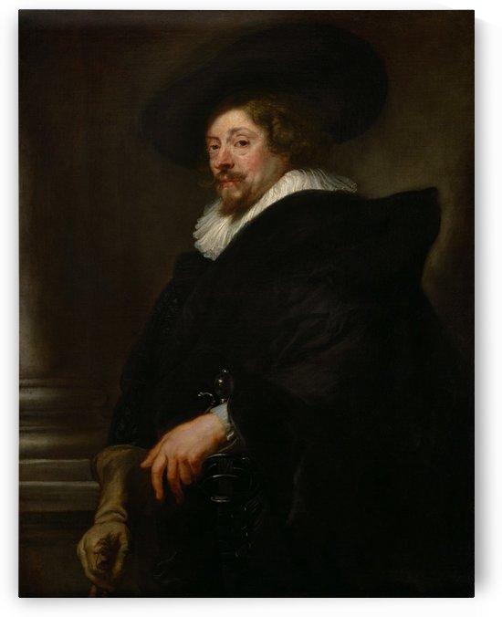 Selfportrait by Peter Paul Rubens
