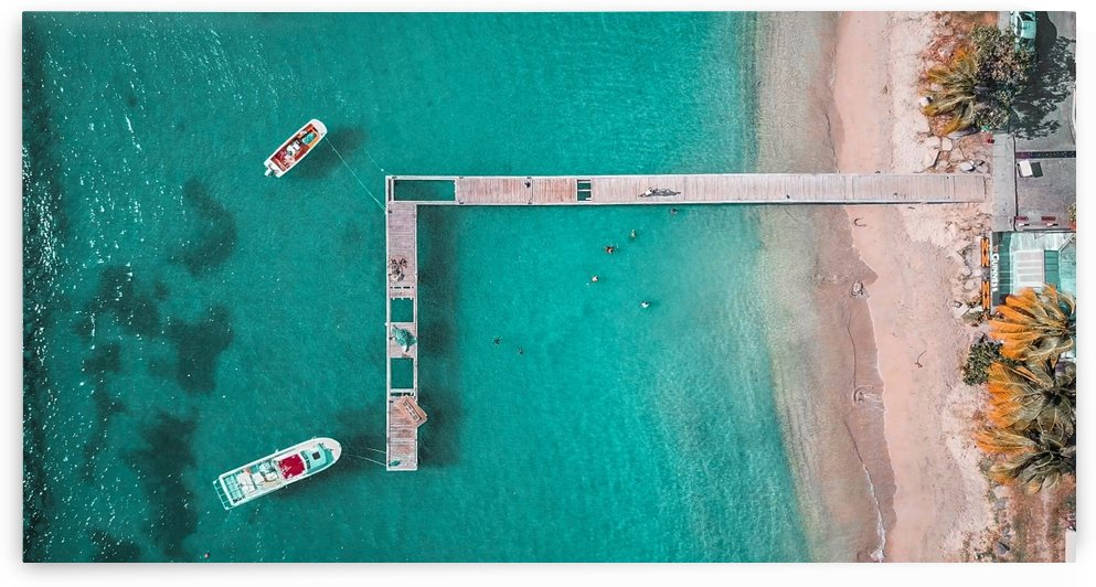 St. Lucia Pier by CWarren