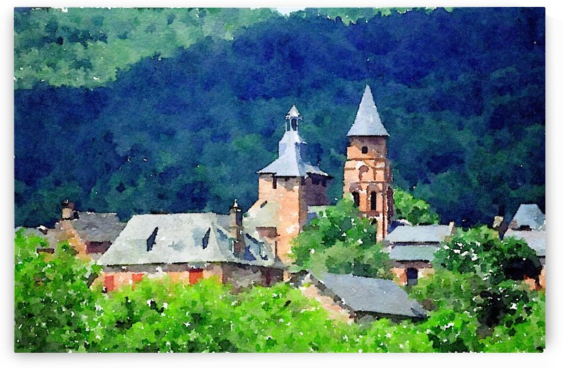Collonges la Rouge by Douglas Kay