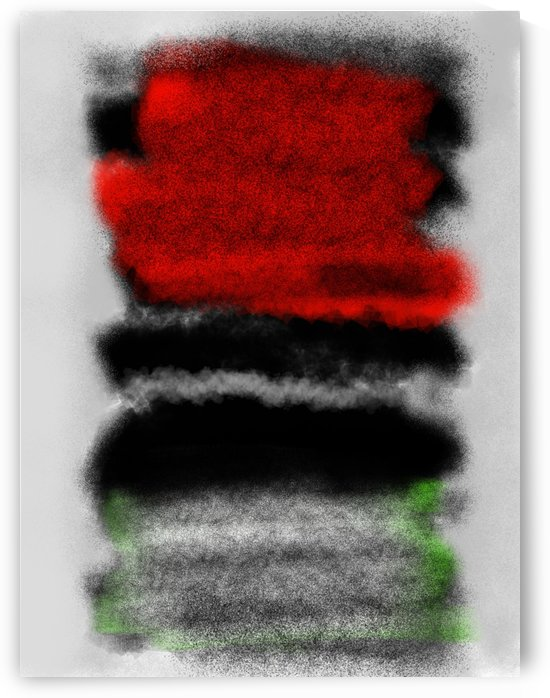 Abstract - red and black by Douglas Kay