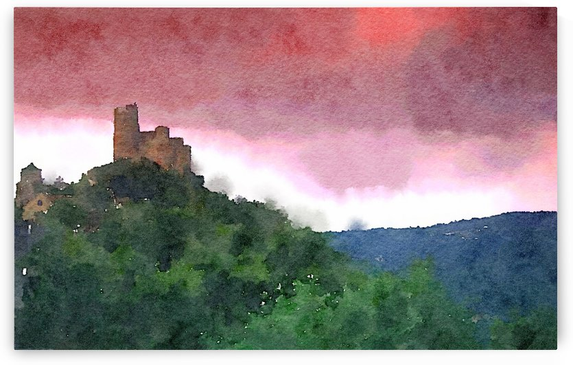 Château de Najarc by Douglas Kay