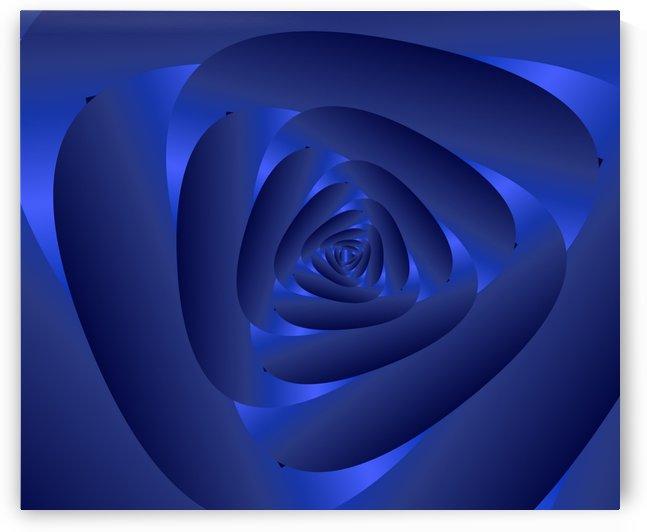 Blue Rose Art by rizu_designs