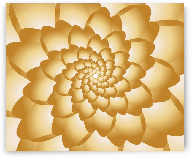 Swirl Floral Art by rizu_designs