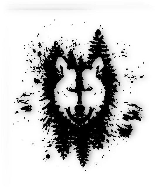 Absract Wolf by joker1312