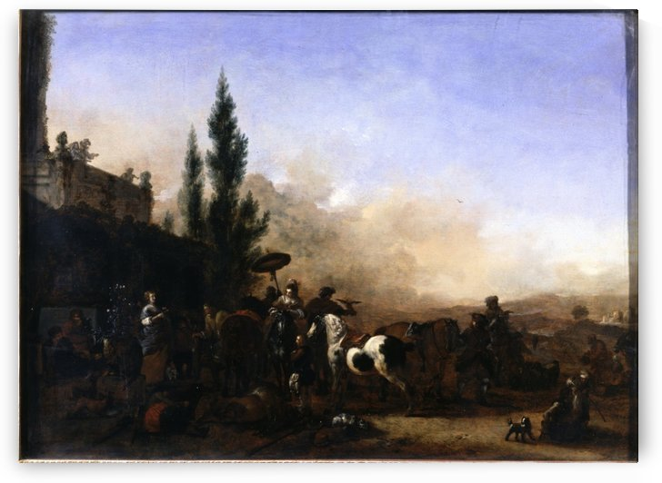 The Return from Hawking by Philips Wouwermans