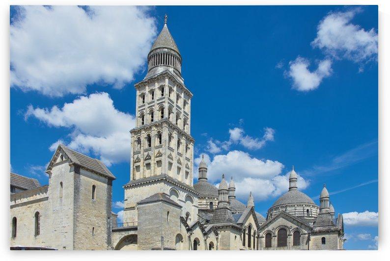 Cathédrale St Front Perigueux. by Douglas Kay