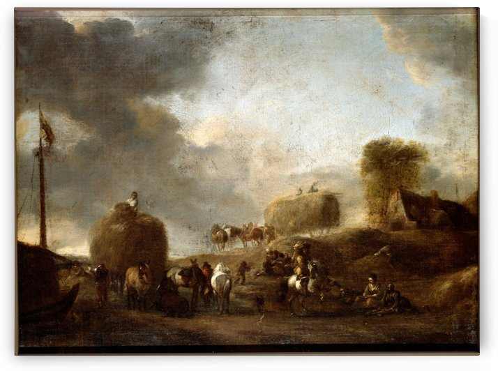 Hay Harvest by Philips Wouwermans