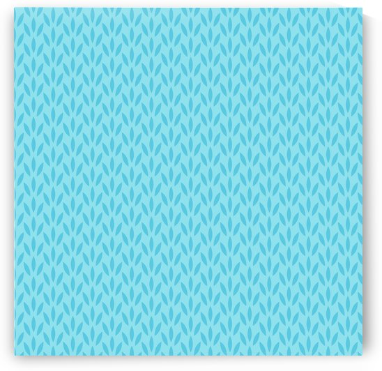 Blue Leaf pattern Art by rizu_designs