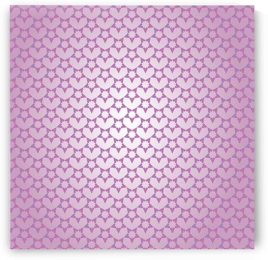 Decorative Pink Color Pattern Art by rizu_designs