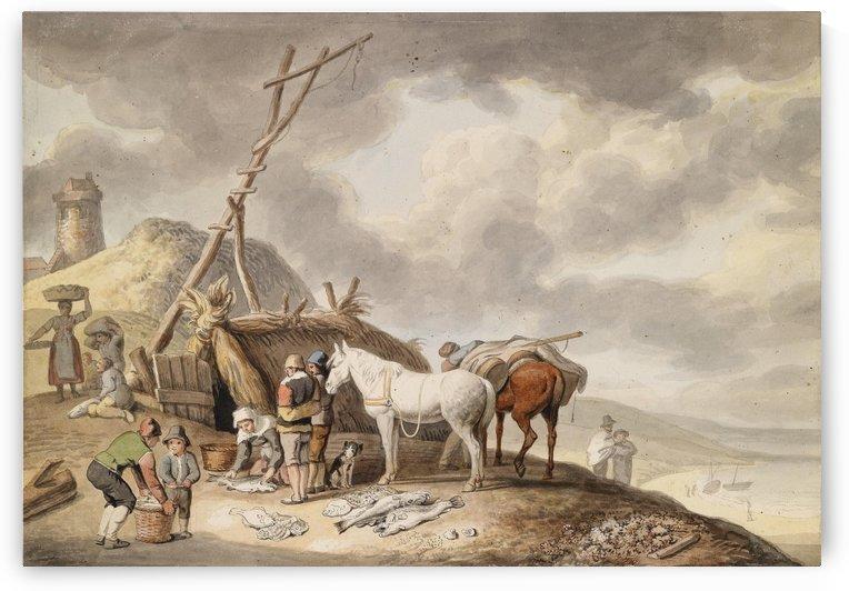 Johann Heinrich Wilhelm Tischbein by Philips Wouwermans