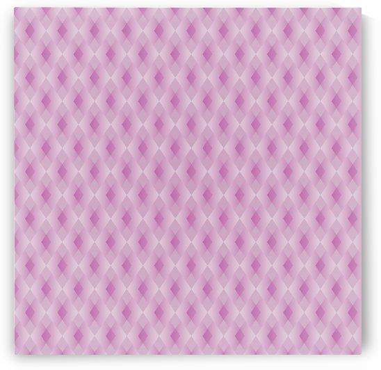 Diamond Shape Pattern Artwork by Rizwana Khan