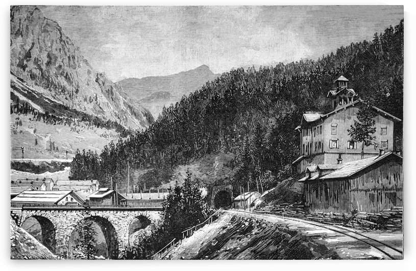 Entrance to the Arlberg Tunnel Langen_OSG by One Simple Gallery