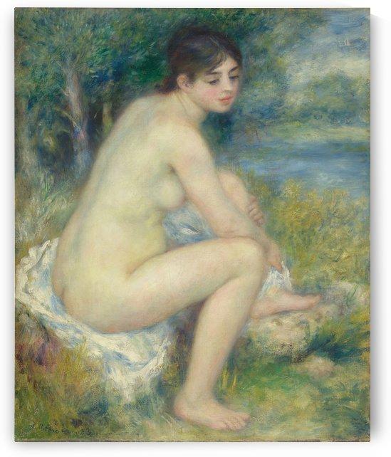 Femme Nue dans un Paysage by Pierre Auguste Renoir