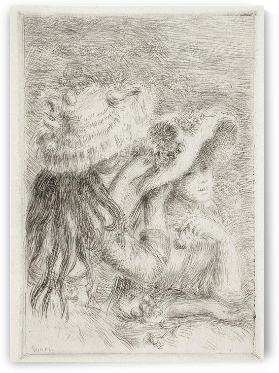 Le Chapeau epingle by Pierre Auguste Renoir