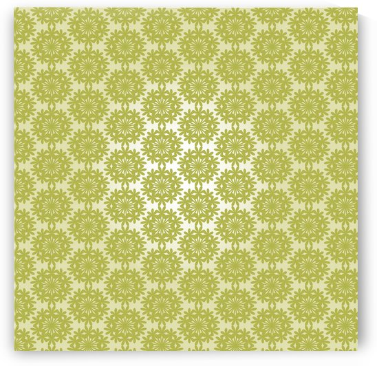 Green Art Seamless Pattern Artwork by rizu_designs