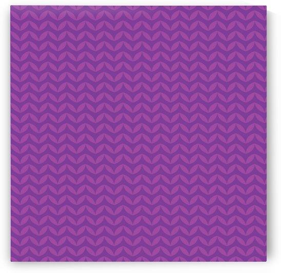 Wavy Seamless Pattern Art by Rizwana Khan