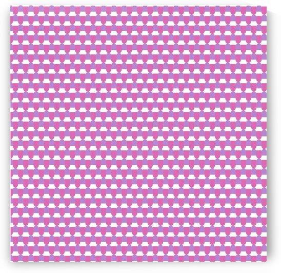 Pink Pattern Artwork by Rizwana Khan
