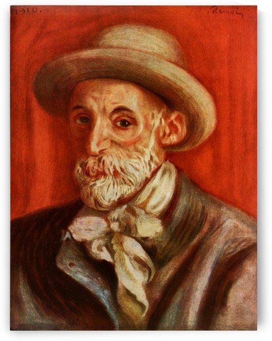 Self-Portrait Renoir by Pierre Auguste Renoir