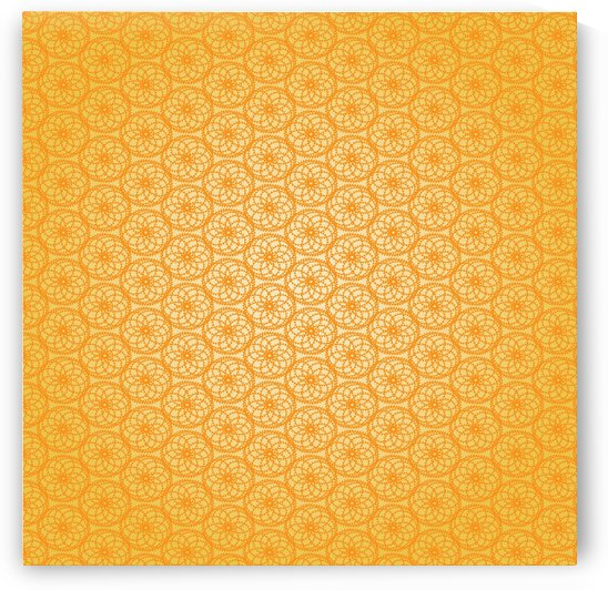 Orange Seamless Pattern Art by rizu_designs