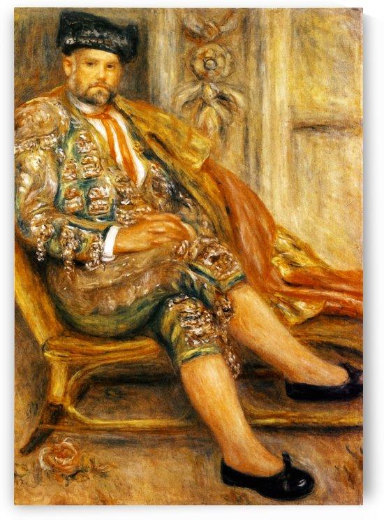 Ambroise Vollard by Pierre Auguste Renoir